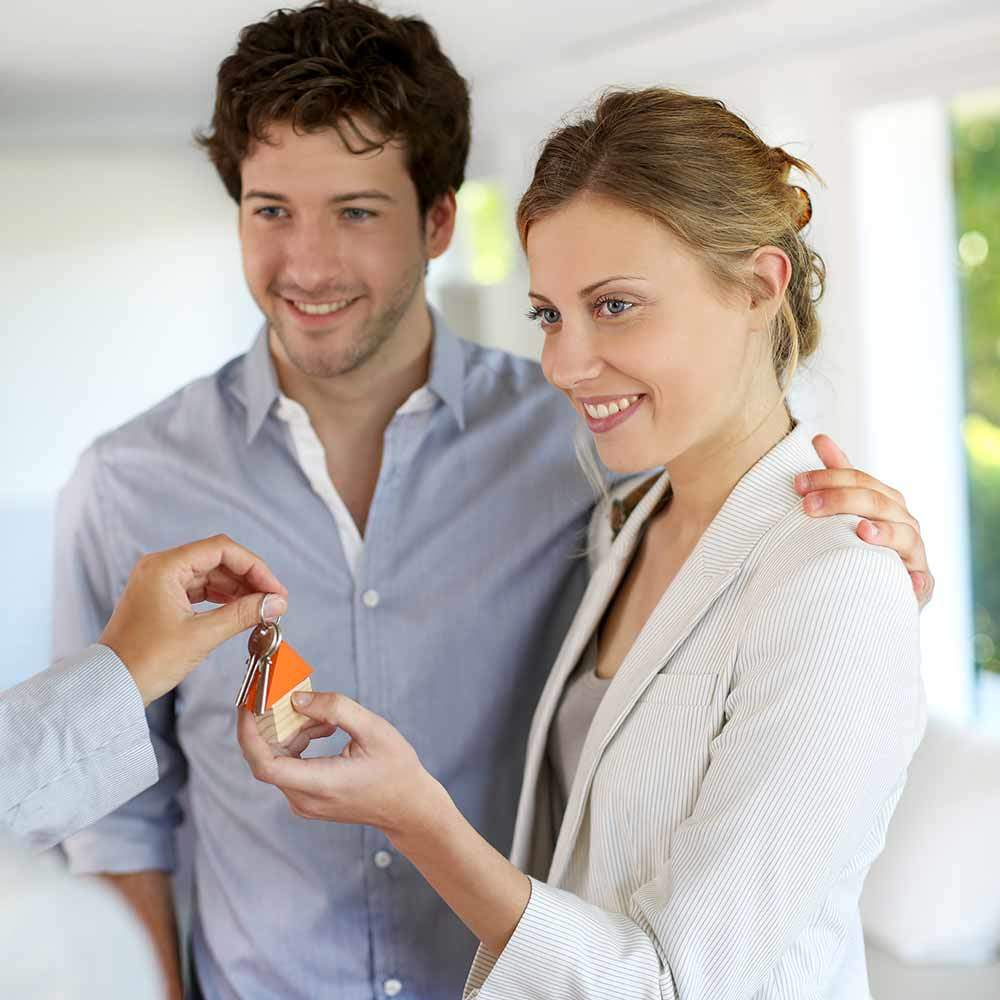 Immobilienkredit Paar